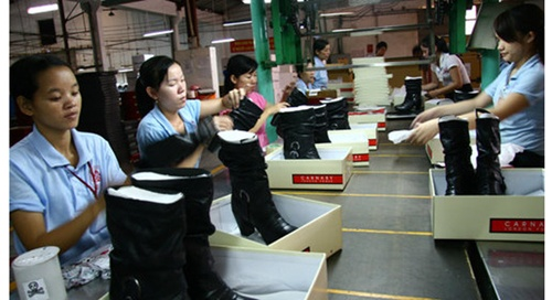 The Ministry of Trade and Industry (MoIT) is urging local footwear makers to further invest in support industries instead of depending excessively on imported raw materials and losing out on profits and competitiveness.